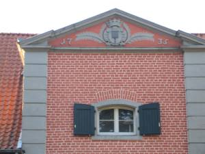 Haus Meer, Eingangstor (Ausschnitt) 2008 (Foto: Ute Reifenberg 2008)