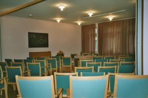 Der Saal im Zschokkehaus